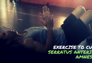 Exercise to Cure Serratus Anterior AMNESIA