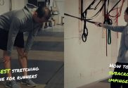 hip stretches for runners and subacromial bursitits