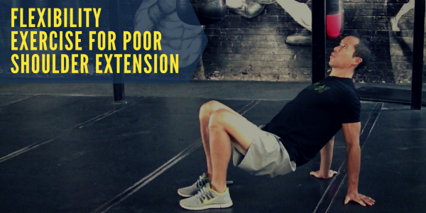 Flexibility Exercise For Poor Shoulder Extension